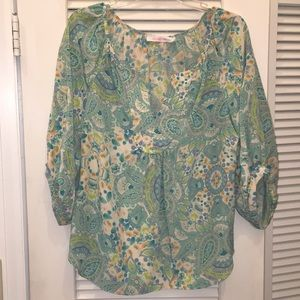 Alice and Trixie Silk Blouse